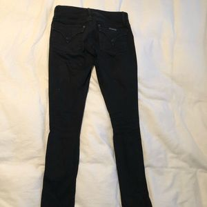 Hudson skinny jeans black